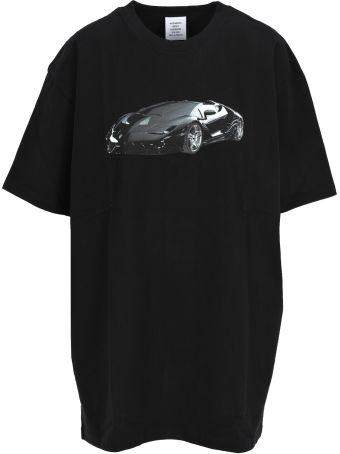 VETEMENTS Supercar Tshirt