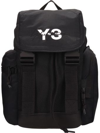Y-3 Black Nylon Xs Mobility Backpack