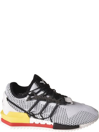 Y-3 Mesh Lace-up Sneakers