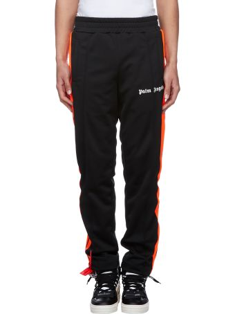 Palm Angels Logo Contrast Track Pants