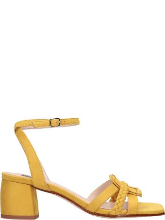 Bibi Lou Yellow Suede Sandals