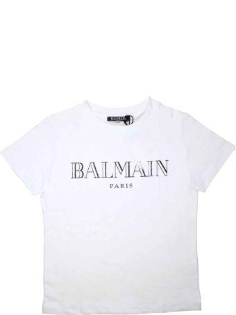 Balmain White Baby T-shirt