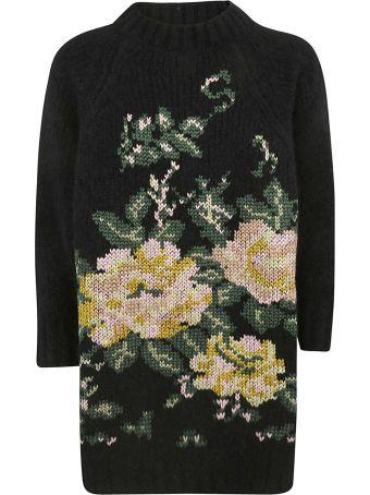 Saverio Palatella Knitted Intarsia Sweater