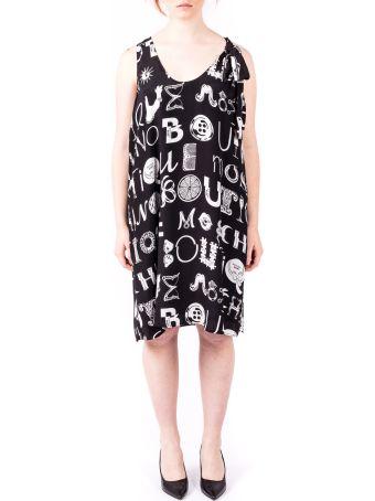 Boutique Moschino Boutique Moschino Viscose And Silk Dress