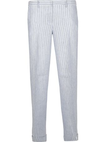 Anneclaire Striped Trousers