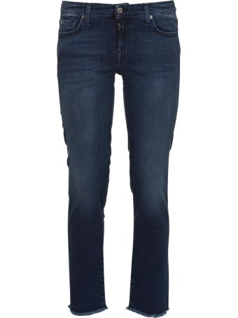 7 For All Mankind Pyper Crop Slim Illusion Jeans