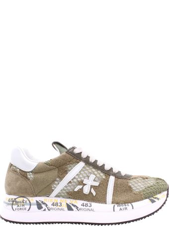 Premiata Conny 4618 Leather Sneakers