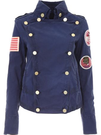 Mr & Mrs Italy Jacket With Patches And Embroidery