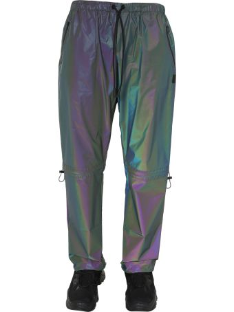 Marcelo Burlon Cross Reflect Drawstr Pants