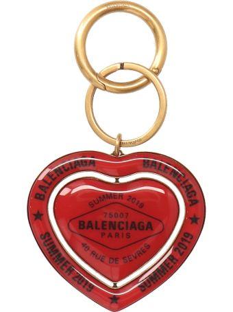 Balenciaga 'casino Earp Round' Keyring
