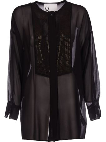 8PM Sequin Embellished Blouse