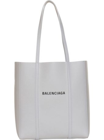 Balenciaga Everyday Extra Small Leather Tote In White