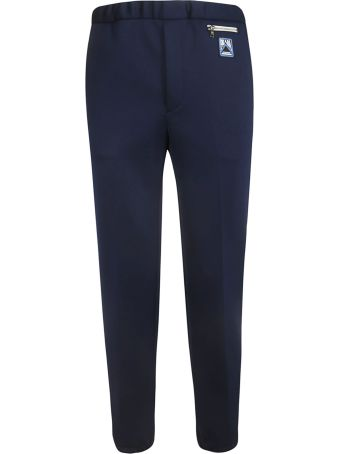 Prada Logo Patch Trousers