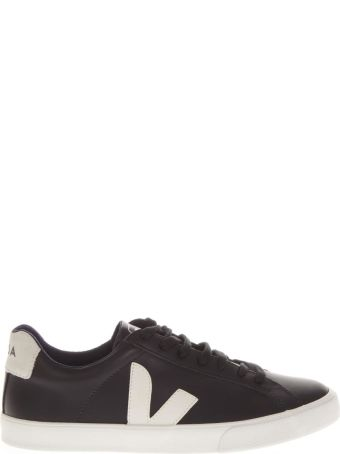Veja Leather Black Sneakers