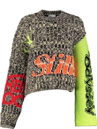 Calvin Klein Jeans Intarsia Wool Sweater