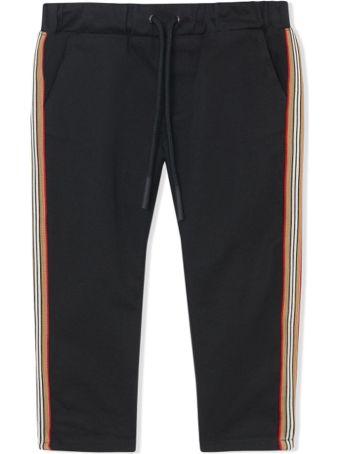 Burberry Newborn Black Chino Pants