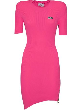 GCDS Fitted Fluo Dress