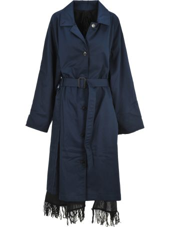VETEMENTS Scarf Trench