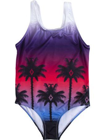 Marcelo Burlon Kids Palm Print Swimsuit
