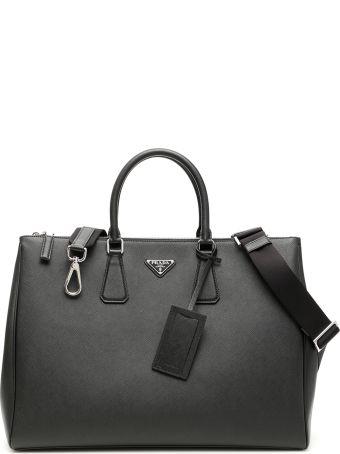 Prada Saffiano Galleria Xxl Travel Bag