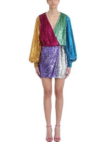 ATTICO Multicolor Sequined Dress