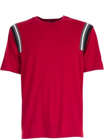 Z Zegna Essential Stripe Detail T-shirt