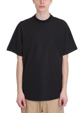 OAMC Newton 2.0 Black Cotton T-shirt