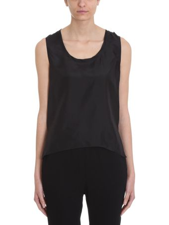 Mauro Grifoni Black Silk Top
