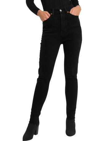 RE/DONE Black Jeans