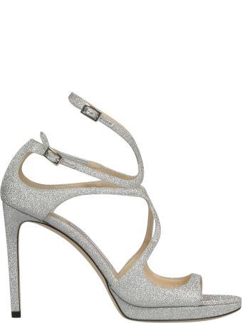 Jimmy Choo Lace 100 Sandals