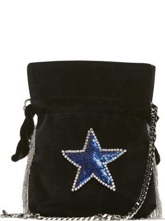 Les Petits Joueurs Star Sequin Bucket Bag