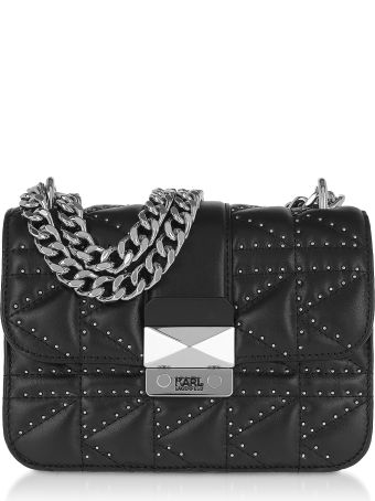Karl Lagerfeld K/kuilted Studs Crossbody Bag