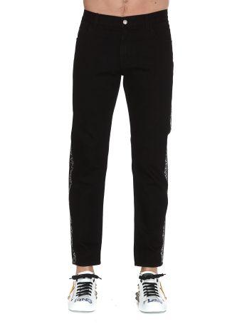 Dolce & Gabbana Logo Band Trousers