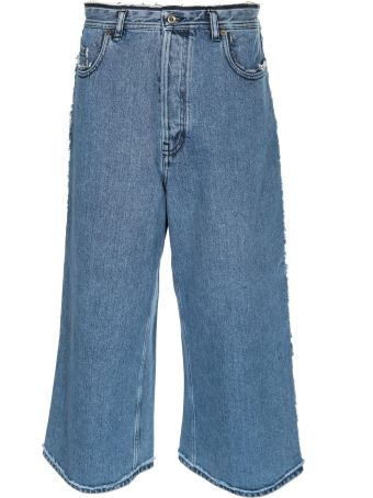 Acne Studios Cropped Flared Jeans