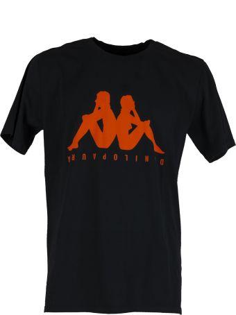 Danilo Paura x Kappa Regular T-shirt Black/orange