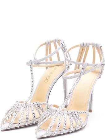 Giannico Leather Heeled Shoes