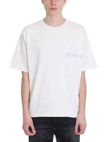Golden Goose Smith White Cotton T-shirt