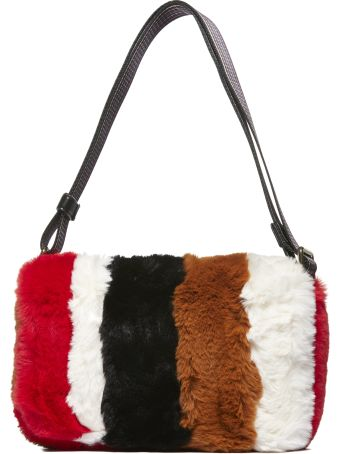 Essentiel Striped Shoulder Bag