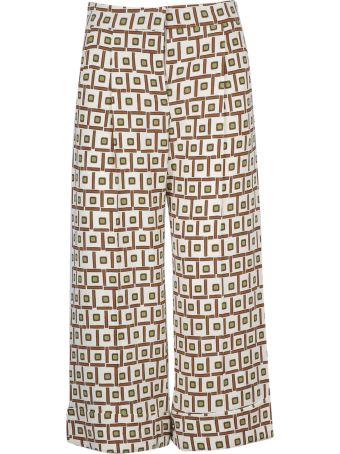 Malìparmi Maliparmi Patterned Trousers