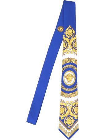 Versace 'barocco' Tie