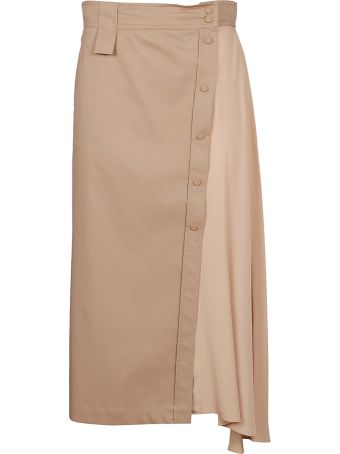 SportMax Shape-shifting Asymmetric Skirt