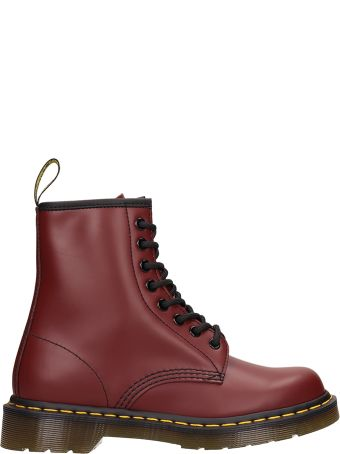 Dr. Martens 1460 Burgundy Leather Boots