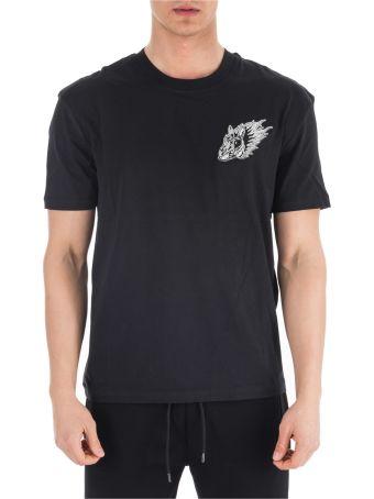McQ Alexander McQueen  Short Sleeve T-shirt Crew Neckline Jumper Rabbit
