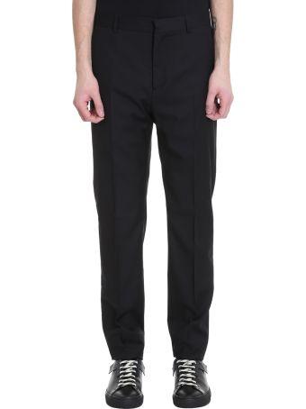 OAMC Cesare Black Wool Pants
