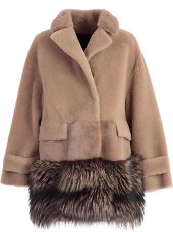 Blancha Fur Paneled Jacket