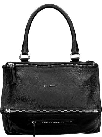 Givenchy Pandora Medium Handbag In Black Leather