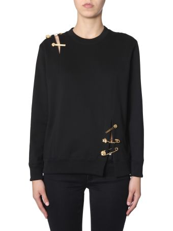 Versace Sweatshirt With Safety Pin