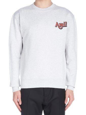 Ami Alexandre Mattiussi 'new Logo' Sweatshirt