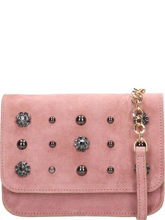 L'Autre Chose Pink Suede Belt Bag