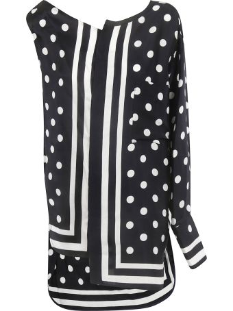 Y's Dotted Print Top